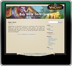 Buy WoW Gold Quest Template