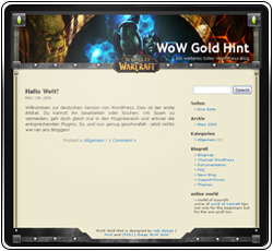 WoW Gold Horde Template