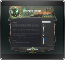 WoWGold Package Template